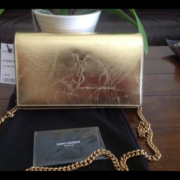 720c52ffcc7b Saint Laurent monogram Kate woc shoulder bag